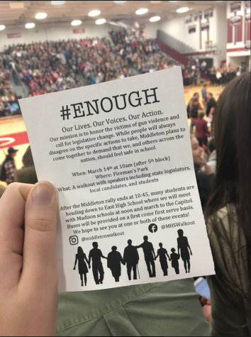 MHS Joins the Nation in Protesting Gun Violence