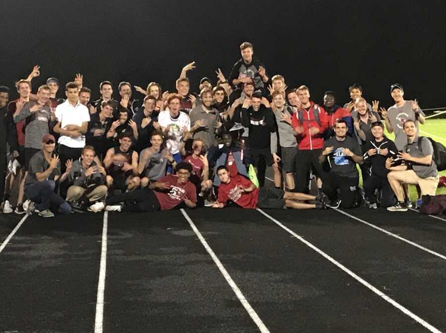 Boys+Track+Wins+Sixth+Consecutive+Conference+Meet