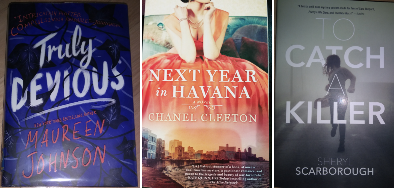 Truly Devious, Next Year in Havana, and Catch Killer are three books that need more buzz in October/November