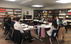 MHS Sophomores Simulate U.S. Government in USGP Class