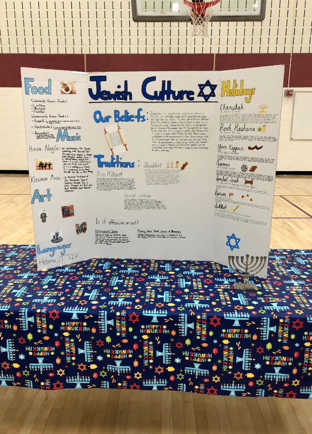 Jewish+culture+was+just+one+of+the+many+identities+presented+at+the+MHS+Culture+Fair.
