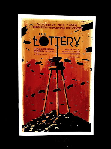 This year's fall one-act play was The Lottery, a play based on Shirley Jackson's 1948 short story.