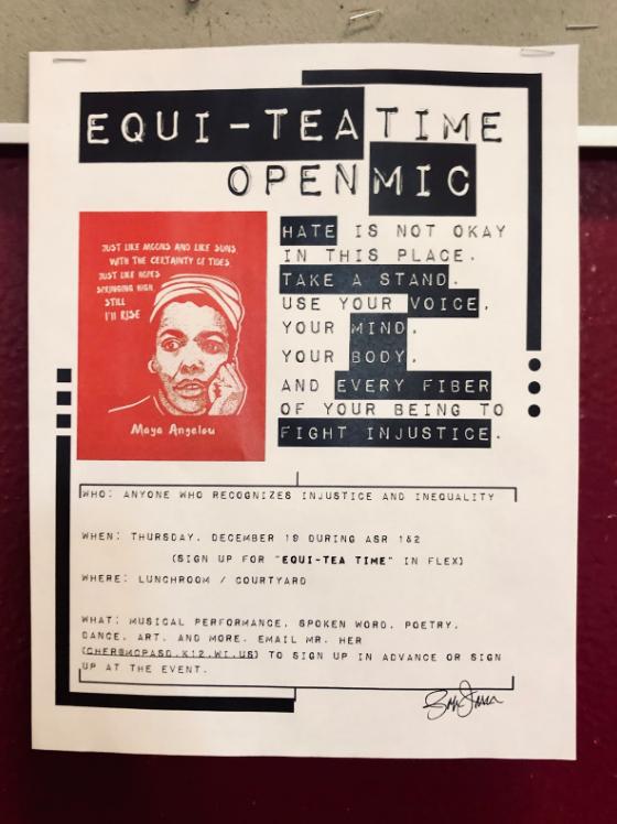 Equi-Tea Time Seeks to Combat Hate