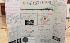 This board, detailing LGBTQ+ history in America, was presented at the 2019 MHS Culture Fair. While some of the events listed on the board, such as the Stonewall Riots, can be found in textbooks used at MHS, LGBTQ+ history is not a major part of most high school curriculums.
