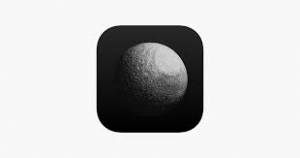 The Co-Star app icon, displaying a partially illuminated moon to create intrigue.