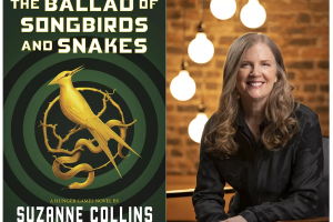 """""""The Ballad of Songbirds and Snakes,"""" written by Suzanne Collins, is the most recent spin-off of the Hunger Games Trilogy, which has sold over 100 million copies."""