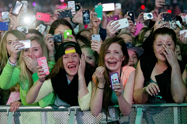 """We all know the image. A sea of young girls all crying and screaming from pure ecstasy, grabbing at their idol's clothes and losing themselves to an almost manic state just at the sight of their idol."" - Lalaina Ratsimihah"