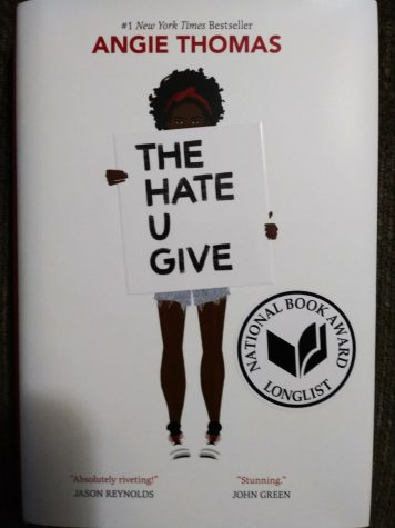 "The cover of ""The Hate U Give."""